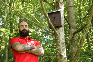 photo of the The Vodafone BirdBox Antenna