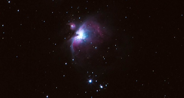 Orion Nebula blog