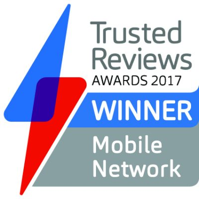 Trusted Reviews Awards 2017 Best Mobile Network