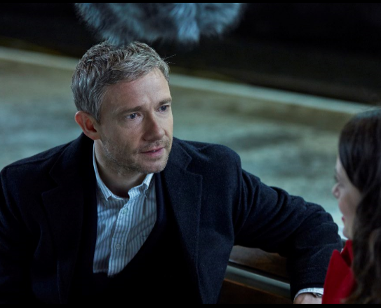 Martin Freeman embarks on a Connected Love Story with Vodafone this Christmas