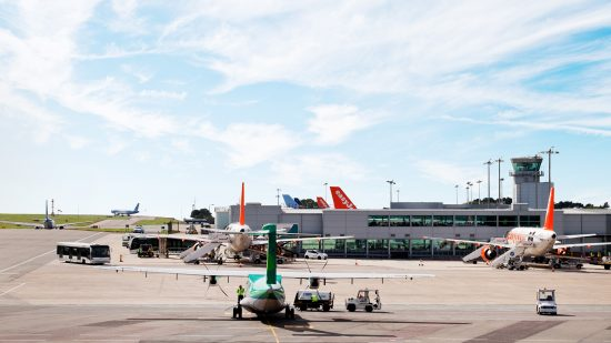 Bristol airport and the city get latest Vodafone 4G technology