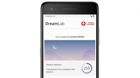 DreamLab user dashboard