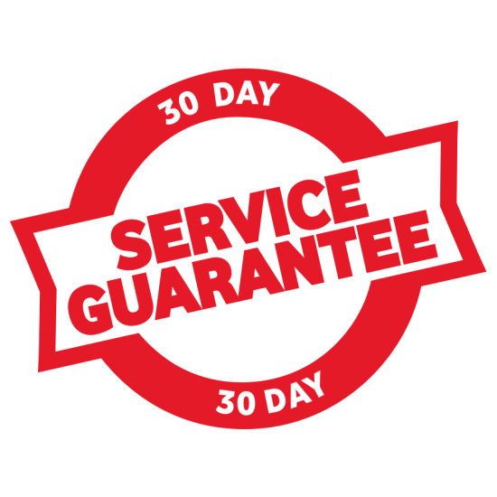 30 Day Service Guarantee Icon 2