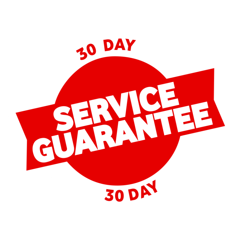 30 Day Service Guarantee icon version 1