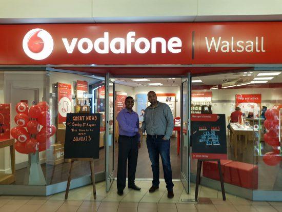 Vodafone UK's partner agent programme opens up to new entrepreneurs