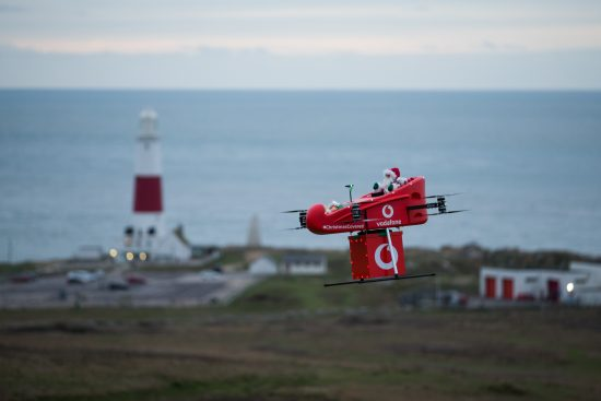 Watch out Ruldolph: Vodafone showcases remote gift delivery with UK's first drone drop over a mobile network