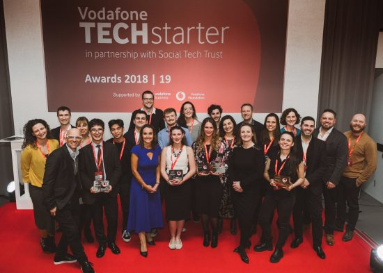 Vodafone Techstarter Awards celebrate UK innovation in social tech