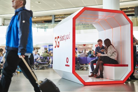 Vodafone connects UK's first 5G airport