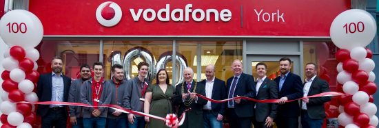 vodafone's 100th partner agent store