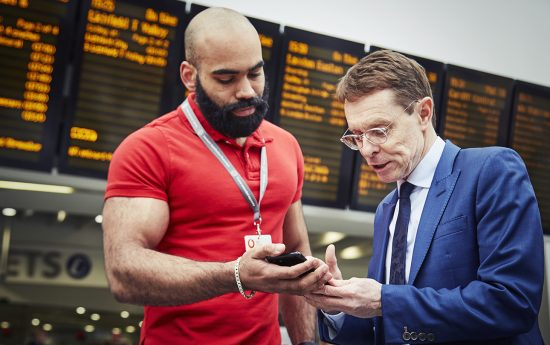 UK's first 5G train station connected as Vodafone live tests 5G in Birmingham