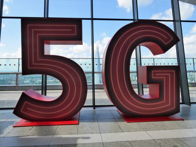 Huge 3D 5G logo