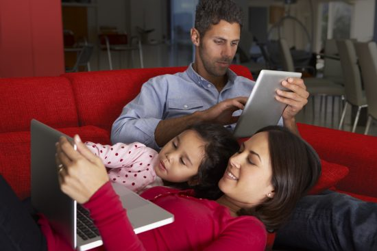 Working from home for the foreseeable future? End bandwidth battles with Vodafone Work and Play