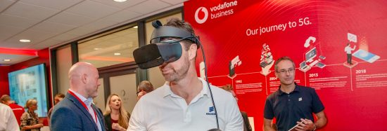 Vodafone Business Lounge opens at Ricoh Arena enabling local businesses to experience the latest 5G technology