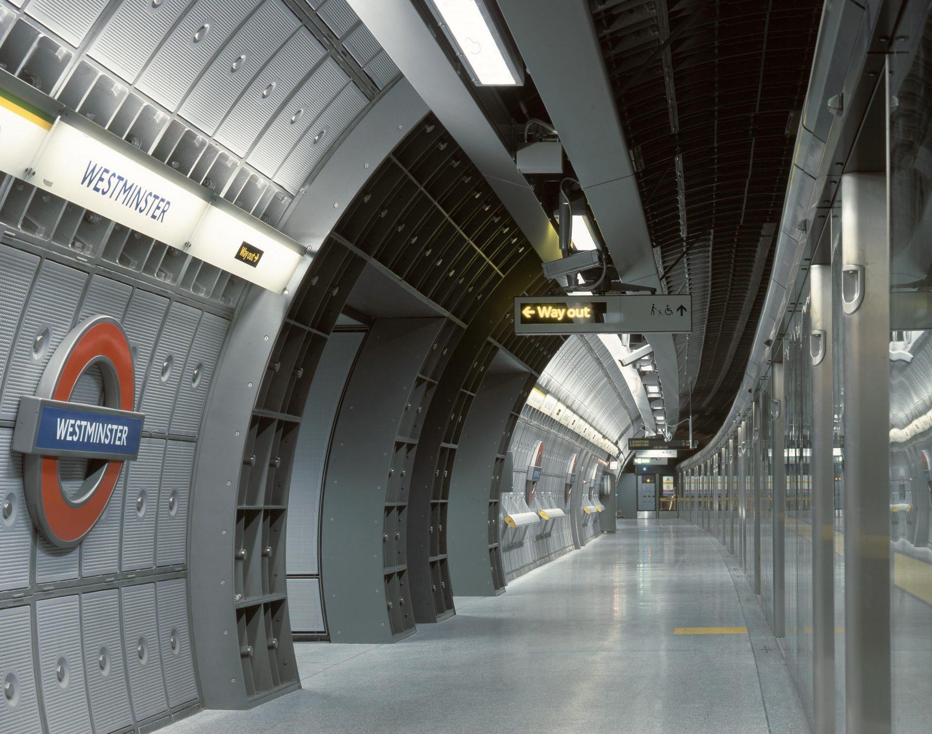 Westminster Tube Station, Jubilee Line