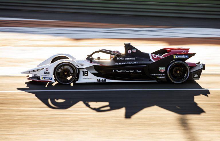 Porsche's Formula E car