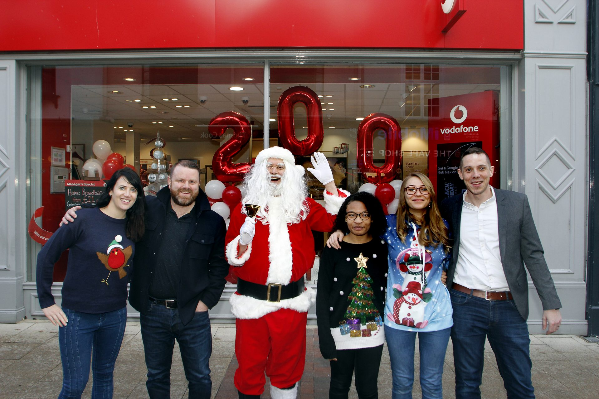 Santa Claus opens our 200th franchise store in Ipswich