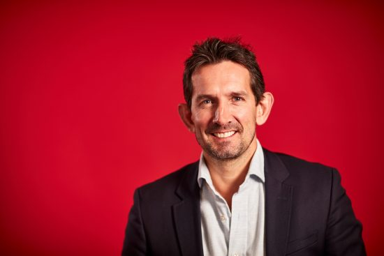 Portrait of Max Taylor, Consumer Director, Vodafone UK