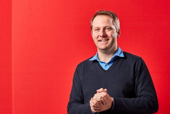 Portrait of Neil Blagden, Director of Customer Operations and Digital, Vodafone UK