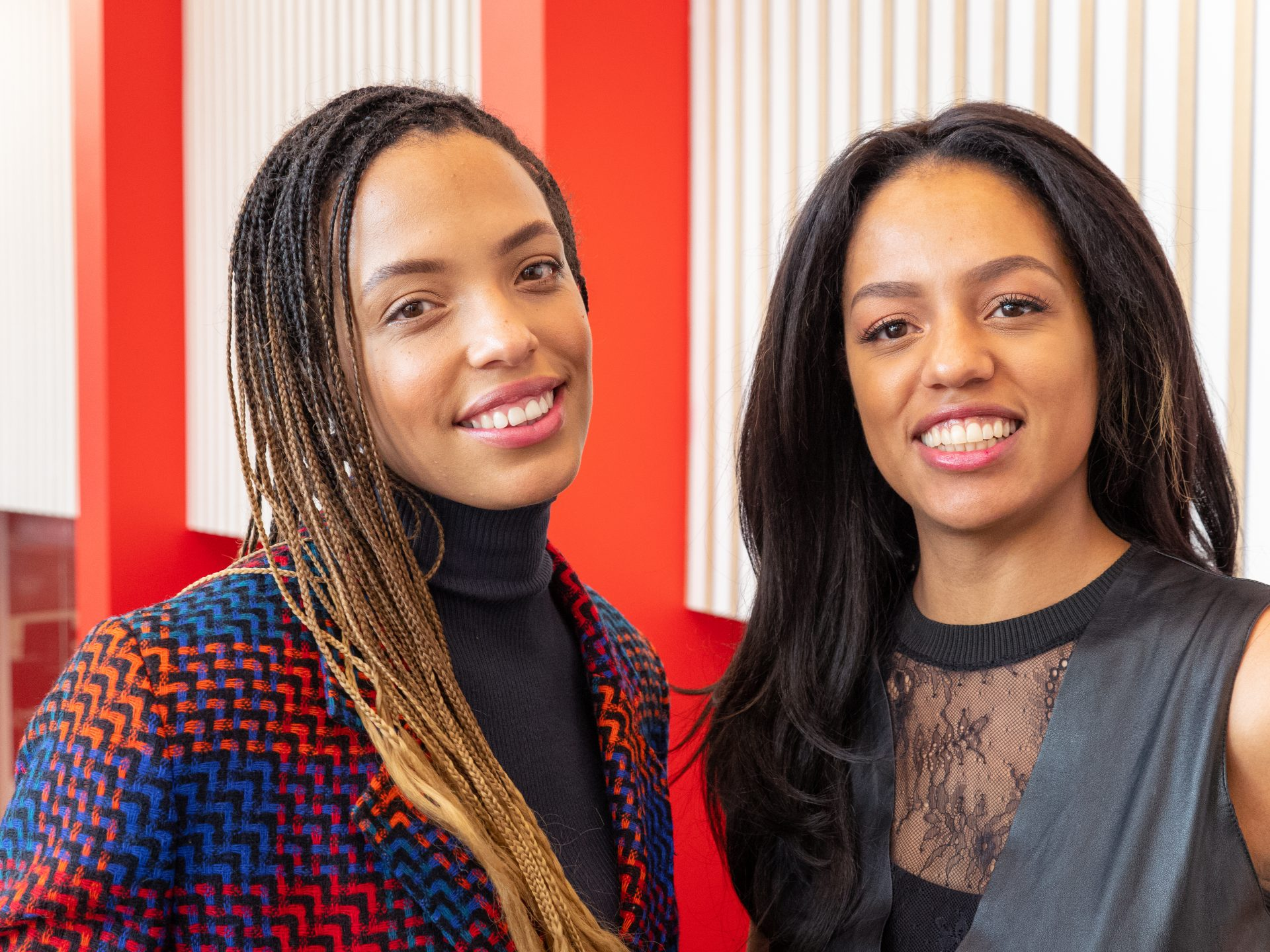 Charlotte and Emma Roberston, founders of Digital Awareness UK