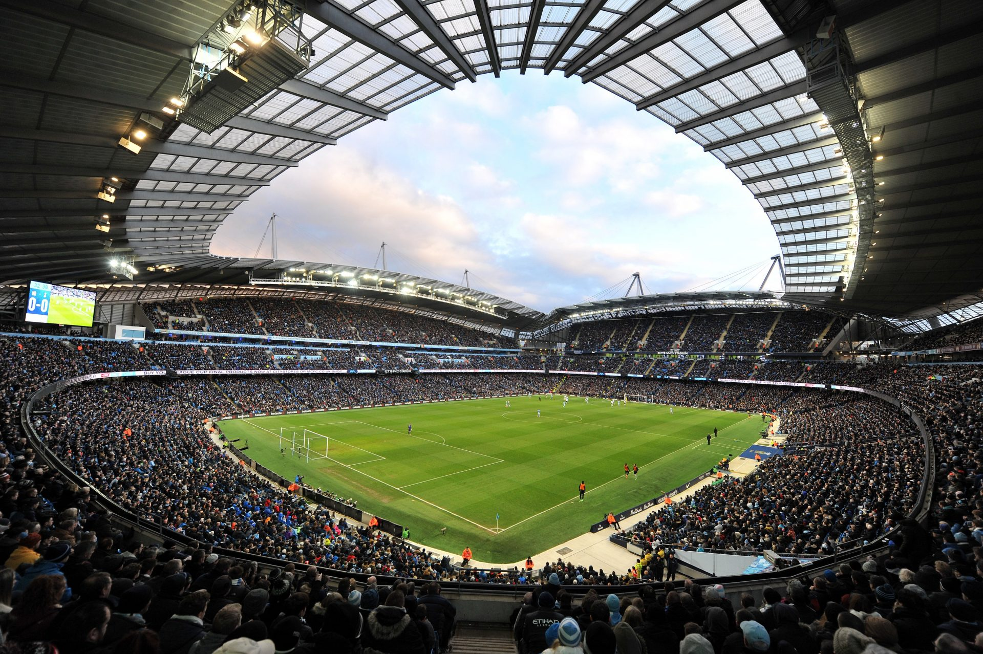 Pphoto of Manchester City Football Club's Etihad Stadium