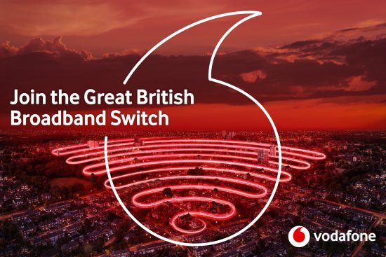 Vodafone launches the Great British Broadband Switch
