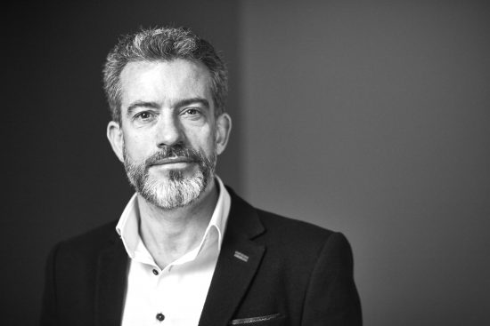 Nick Jeffery, CEO, Vodafone UK portrait