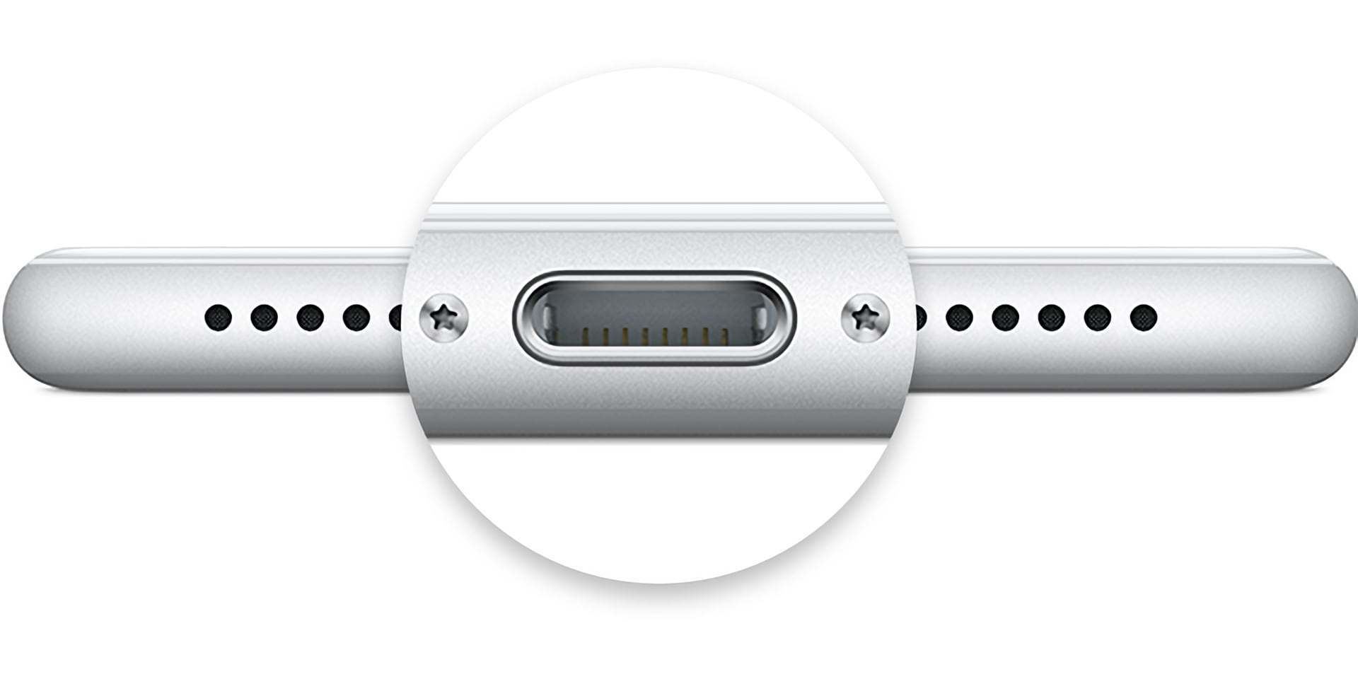 Lightning ports are found on all iPhones since the release of the iPhone 5 in 2012. They're also found on the charging cases for AirPods, some wireless keyboards and mice for Macs, and some Beats headphones and earphones.