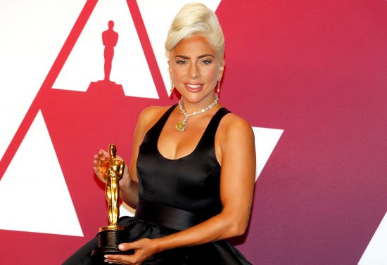 Lady Gaga at the 91st Annual Academy Awards, Feb 2019