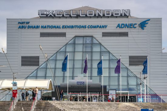 The Nightingale Hospital at London's Excel Centre