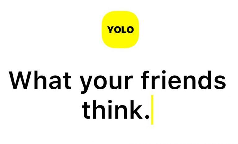 YOLO screengrab