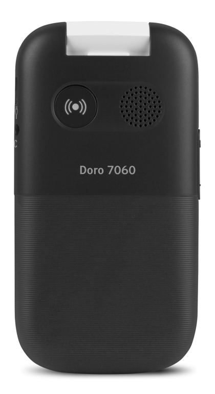 photo of the rear of the Doro 7060