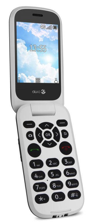 photo of the Doro 7060 mobile phone
