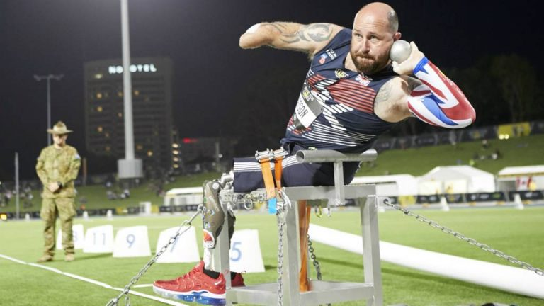 photo of British Army veteran Dave Watson at the Invictus Games