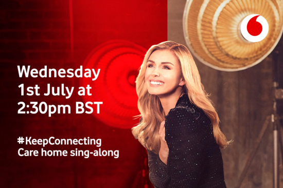 Katherine Jenkins singalong graphic