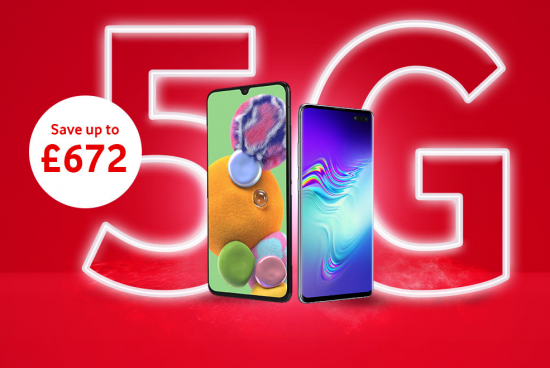 5G smartphone flash sale graphic