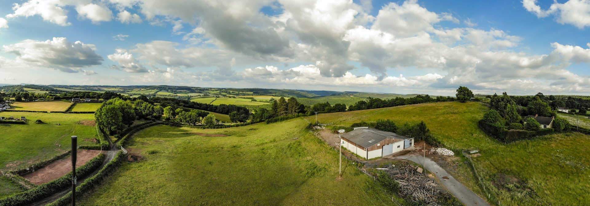 photo of Vodafone UK's first Shared Rural Network mast