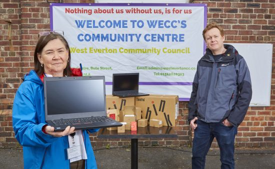 Vodafone joins West Everton Community Council to connect local children in 'Better Connected' pilot
