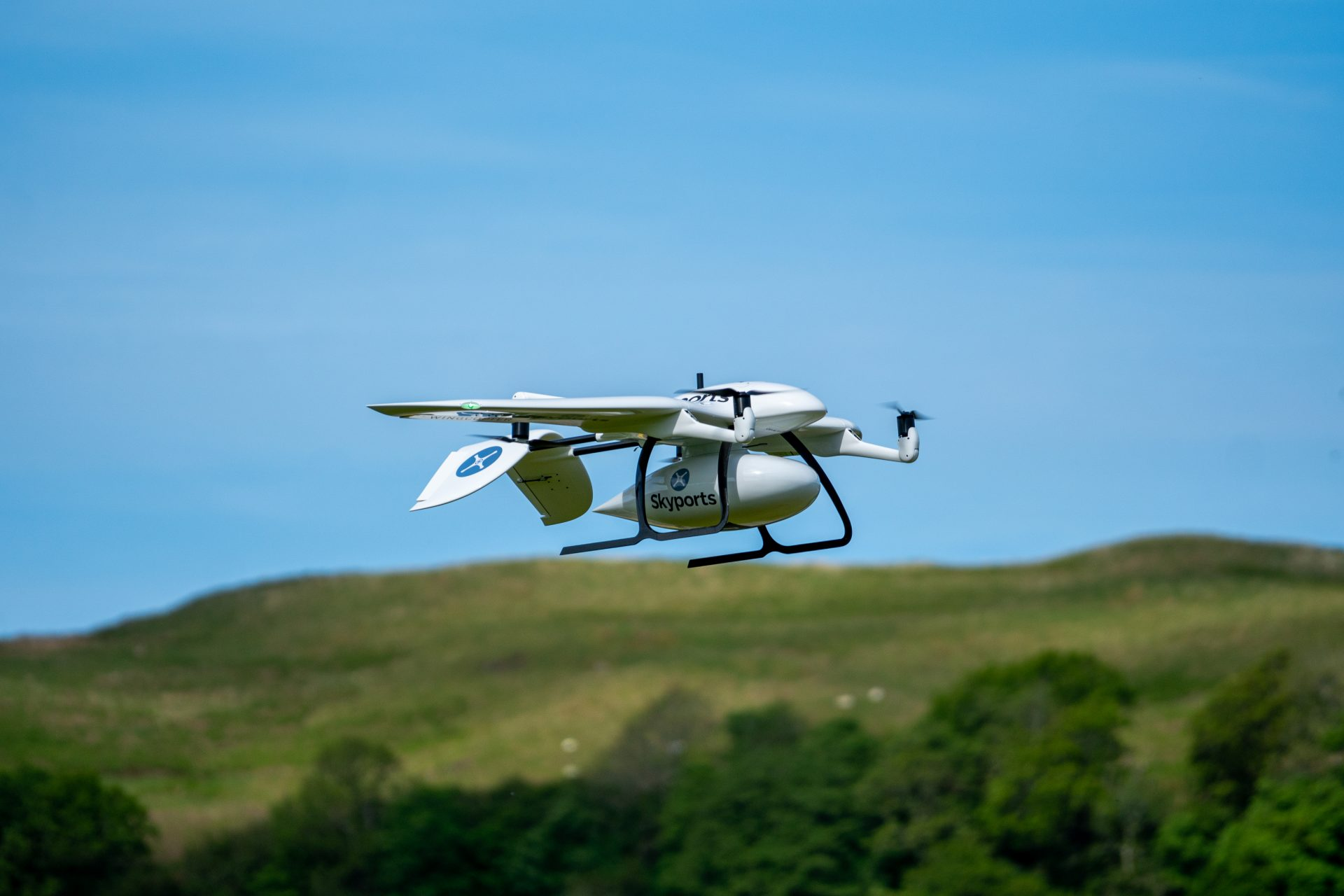 Skyports delivery drone