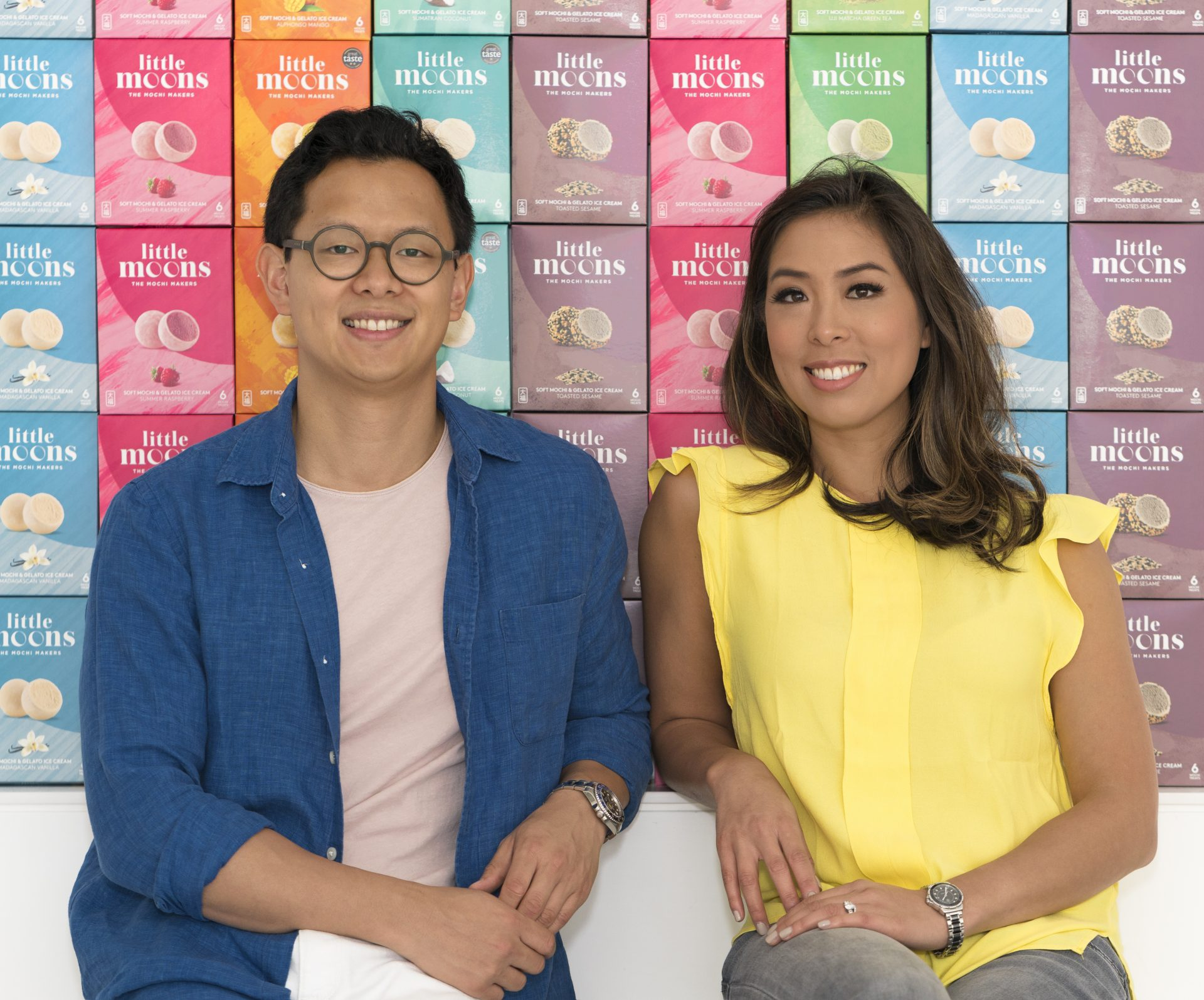 Howard and Vivien Wong, founders of Little Moons
