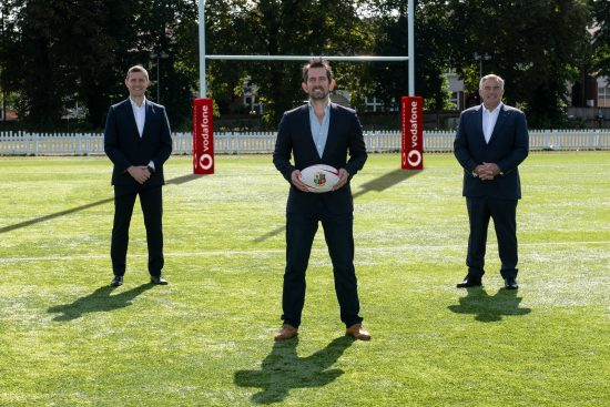 Vodafone to partner with British & Irish Lions for rugby's greatest adventure