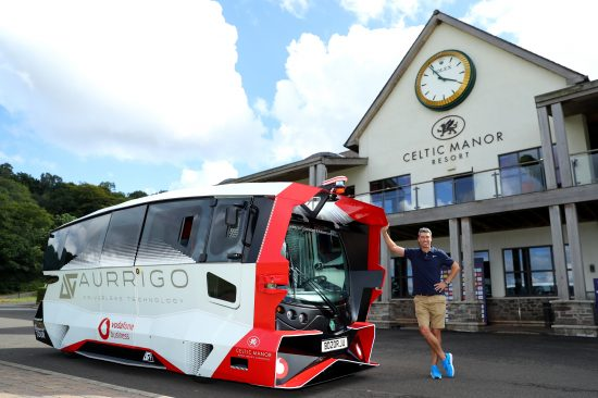 Golf's European Tour to trial driverless transport at Celtic Manor