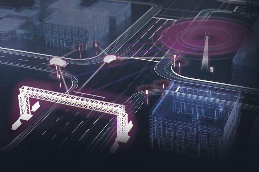 HORIBA MIRA graphic of Nuneaton driverless vehicle testing centre