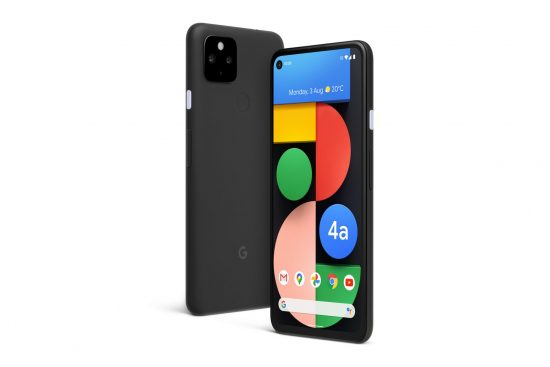 illustrative photo of the Google Pixel 4a 5G