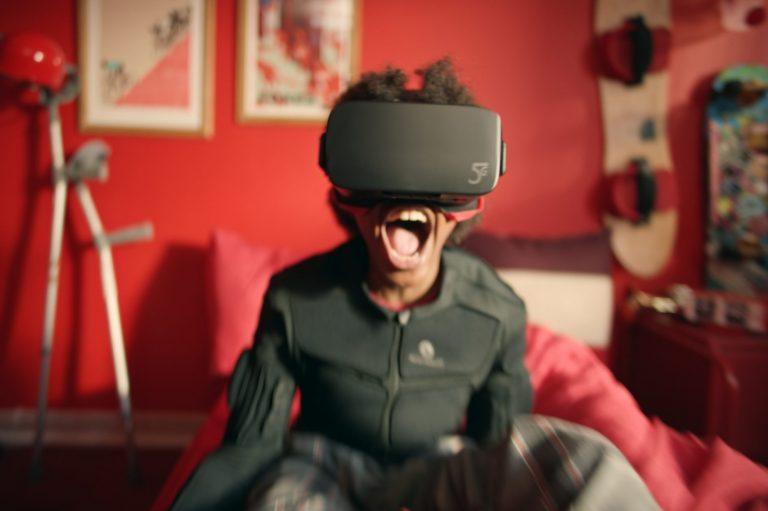 Vodafone Christmas Campaign: VR Sledging