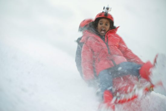 Vodafone Christmas Campaign: Sledging