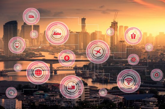 internet of things smart city concept