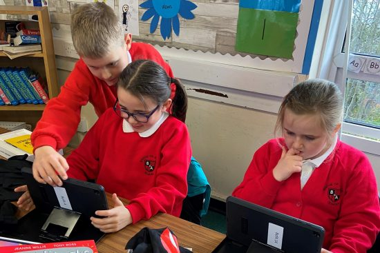 Bridging the education gap: new 'Connected Education' pilot launched in Stirling school