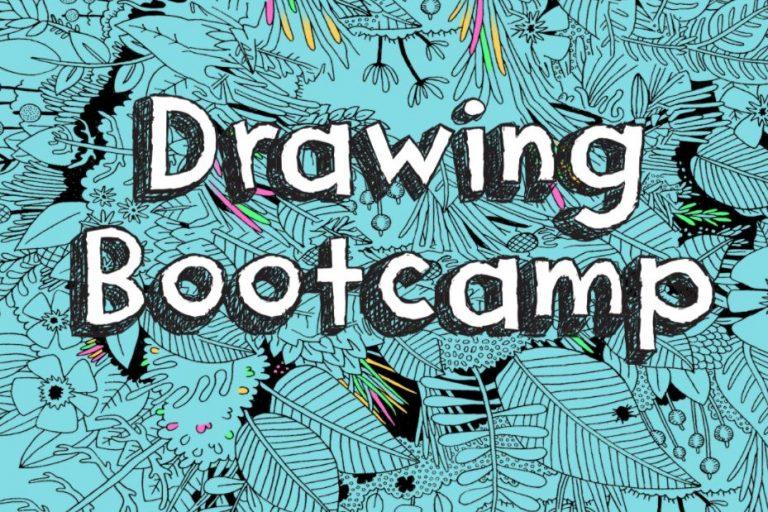 DIY Drawing Bootcamp Graphic