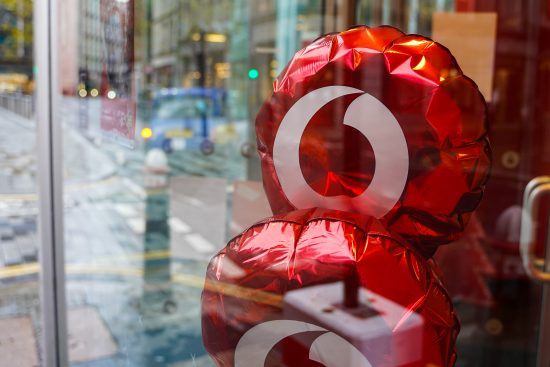 Vodafone reopens its retail stores across the UK