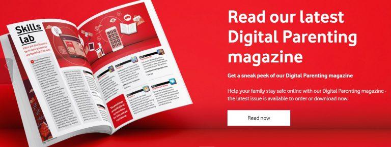 Digital Parenting Magazine Banner